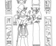 Coloriage et dessins gratuit Egypte 75 à imprimer