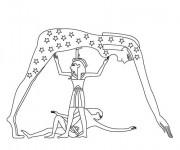 Coloriage et dessins gratuit Egypte 80 à imprimer