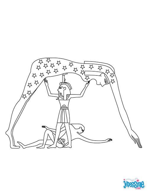 Coloriage et dessins gratuits Egypte 80 à imprimer