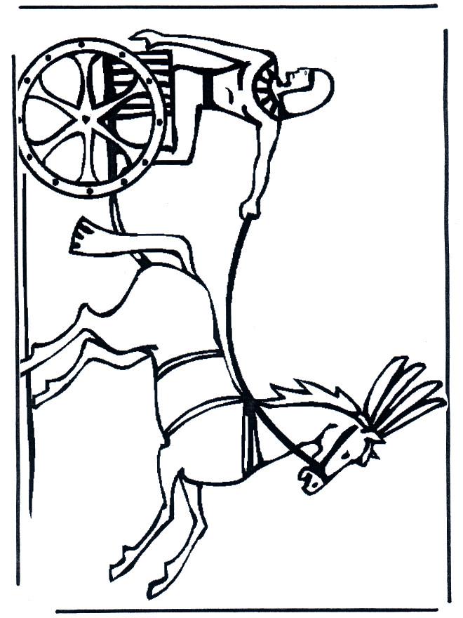 Coloriage et dessins gratuits Illustration Egypte ancienne à imprimer