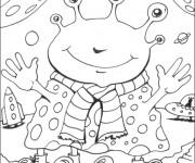 Coloriage dessin  Extraterrestre 16