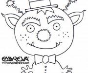 Coloriage et dessins gratuit Extraterrestre pour Les Petits à imprimer