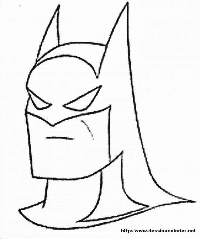 Coloriage Batman En Couleur Dessin Gratuit A Imprimer