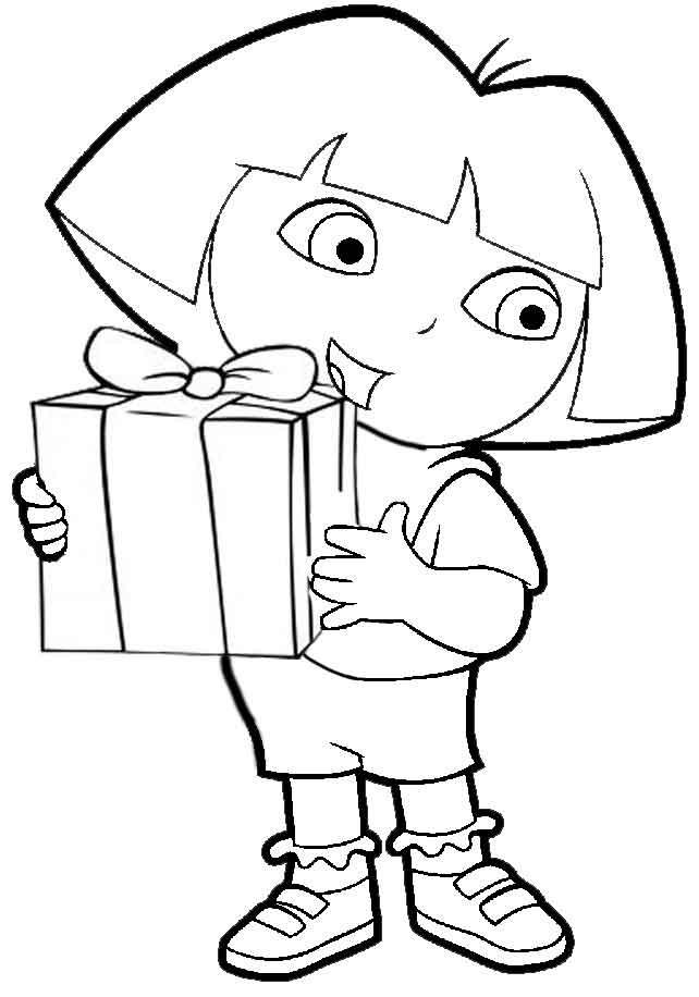 Coloriage et dessins gratuits Dora Disney Facile à imprimer