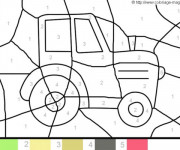 Coloriage dessin  Magique Facile 19