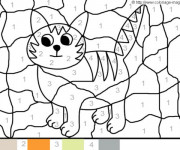 Coloriage dessin  Magique Facile 5
