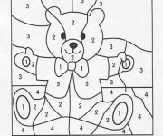 Coloriage dessin  Magique Facile 8