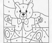 Coloriage et dessins gratuit Magique nombres  Facile à colorier à imprimer