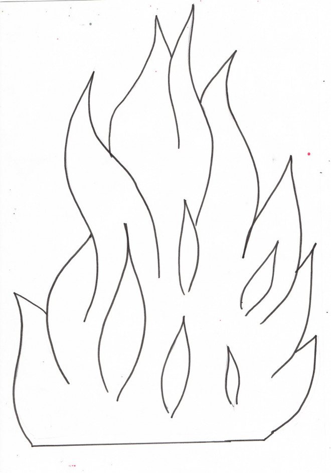 coloriage flamme dessin gratuit imprimer. Black Bedroom Furniture Sets. Home Design Ideas