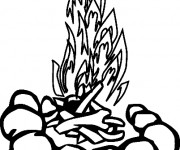 coloriage feu gratuit imprimer. Black Bedroom Furniture Sets. Home Design Ideas