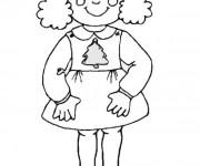 Coloriage et dessins gratuit Fille 10 ans à imprimer