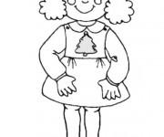Coloriage et dessins gratuit Fille 7 ans à imprimer