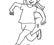 Coloriage et dessins gratuit Fille 9 à imprimer