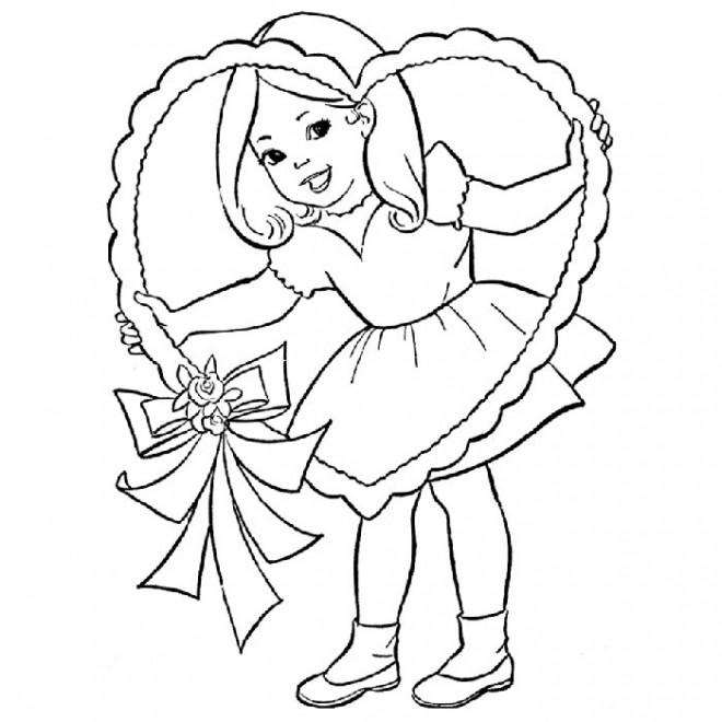 Coloriage et dessins gratuits Fille et Innocence à imprimer