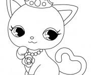 Coloriage dessin  Jewelpet 31