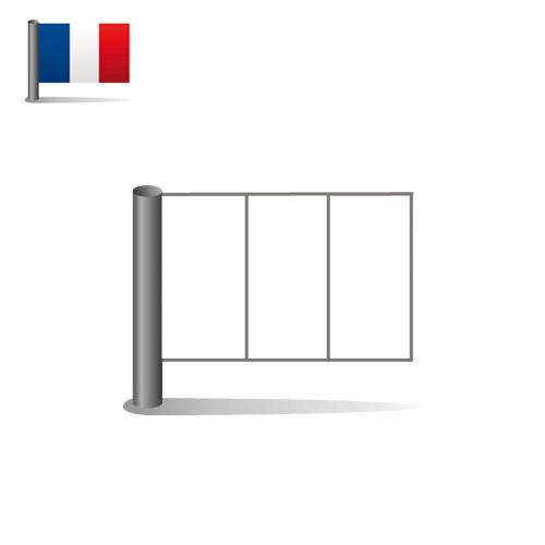 Drapeau: Drapeau De La France A Colorier