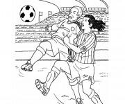 Coloriage dessin  Football 1
