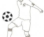 Coloriage dessin  Football 60