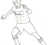 Coloriage dessin  Football 81