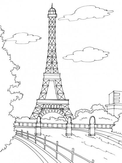 Coloriage et dessins gratuits France à colorier avec Paint à imprimer