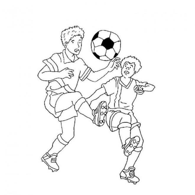 Coloriage et dessins gratuits France Football couleur à imprimer