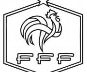 Coloriage dessin  Logo de Foot 12