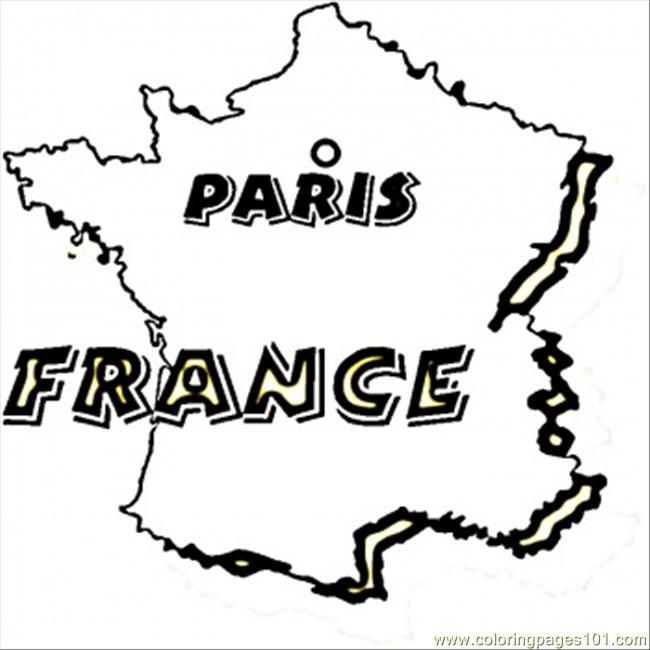 Coloriage et dessins gratuits Paris La Capitale de France à imprimer