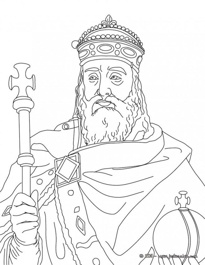 Coloriage et dessins gratuits Saint Français à imprimer
