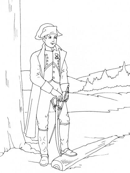 Coloriage et dessins gratuits Soldat Français à imprimer