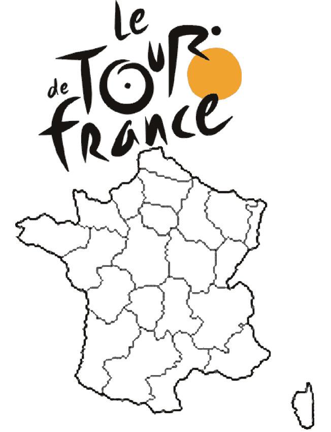 Coloriage Tour De France à Télécharger