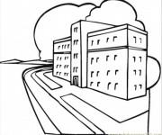 Coloriage Hôpital à télécharger