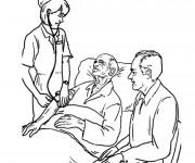 Coloriage et dessins gratuit Hôpital maternelle à imprimer
