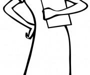 Coloriage et dessins gratuit La Belle Infirmière à imprimer