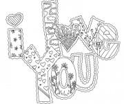 Coloriage dessin  Amour 22