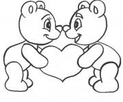 Coloriage dessin  I Love You 8