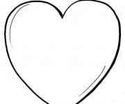 Coloriage Je T'aime de tout mon Coeur