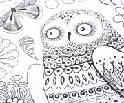 Coloriage Anti-Stress Animaux et Nature