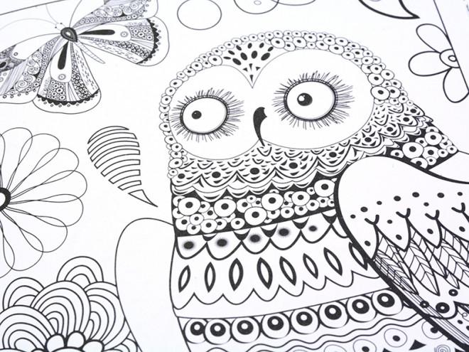 Coloriage et dessins gratuits Anti-Stress Animaux et Nature à imprimer