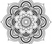 Coloriage et dessins gratuit Décoration Inspiration Zen à imprimer