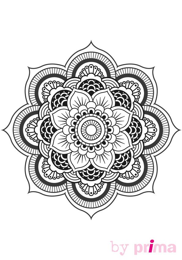 Coloriage et dessins gratuits Décoration Inspiration Zen à imprimer