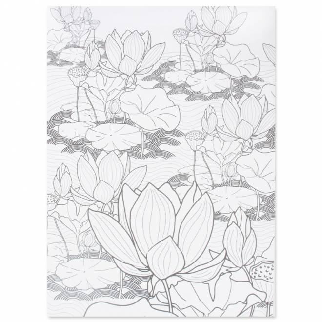 Coloriage et dessins gratuits Inspiration fleurs zen stylisé à imprimer