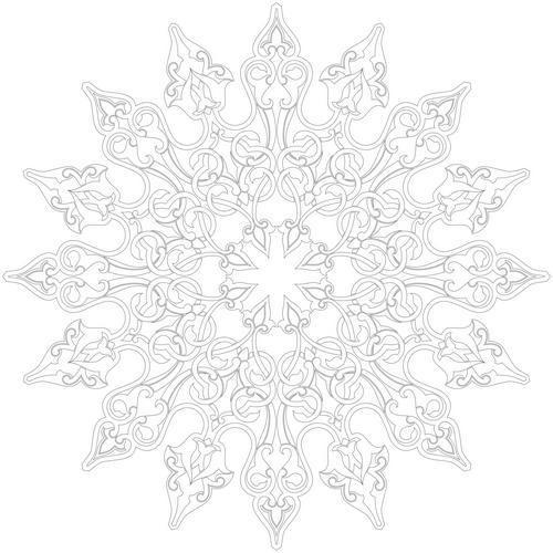 Coloriage et dessins gratuits Inspiration Zen à décorer à imprimer