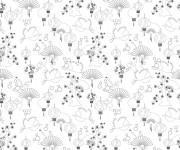 Coloriage et dessins gratuit Inspiration Zen à découper à imprimer