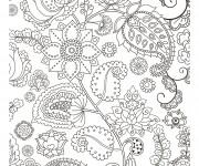 Coloriage et dessins gratuit Inspiration Zen à télécharger à imprimer