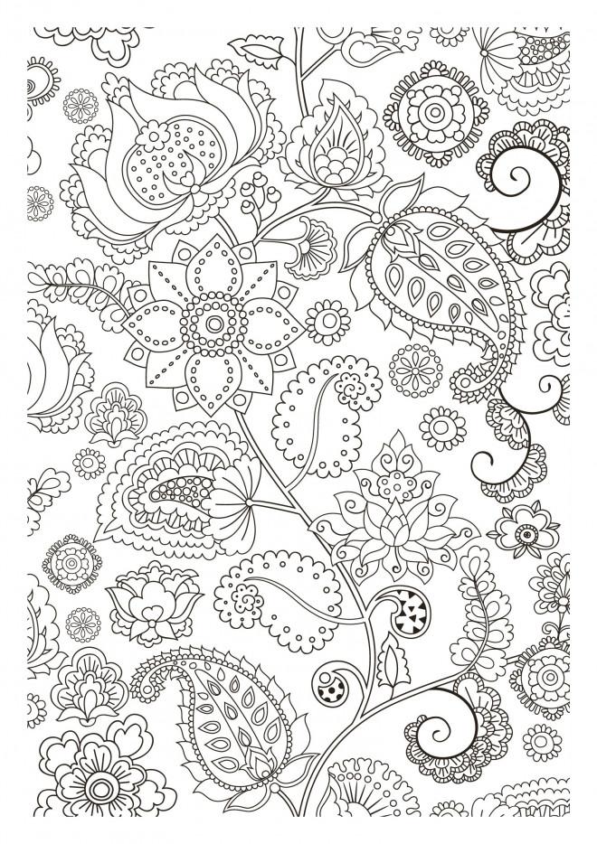 Coloriage et dessins gratuits Inspiration Zen à télécharger à imprimer