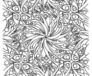 Coloriage et dessins gratuit Inspiration Zen adorable à imprimer