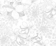 Coloriage et dessins gratuit Inspiration Zen Difficile à imprimer