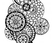 Coloriage et dessins gratuit Inspiration Zen en vecteur à imprimer