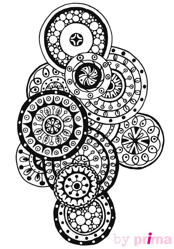 Coloriage et dessins gratuits Inspiration Zen en vecteur à imprimer