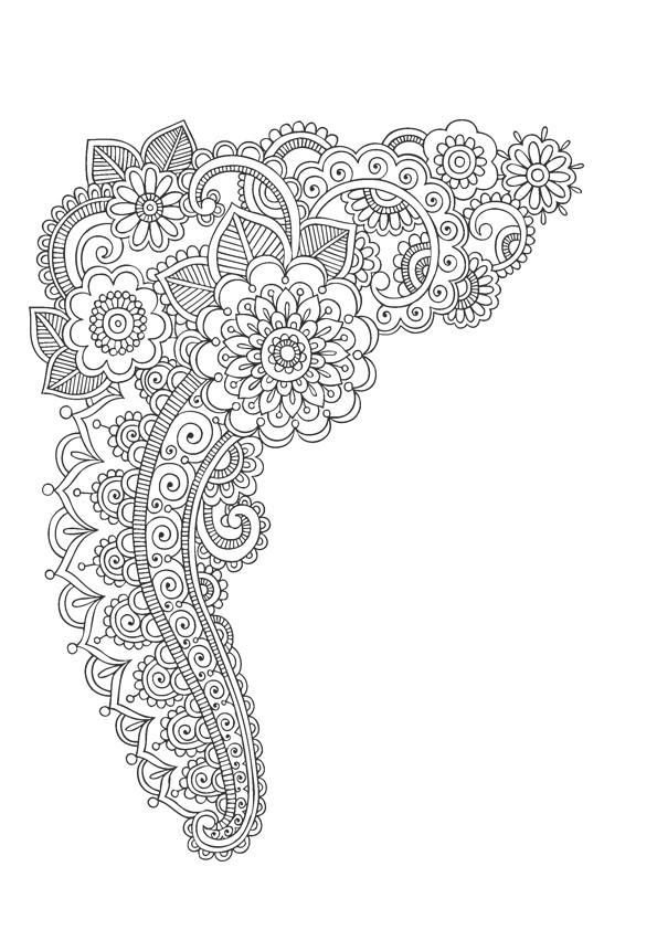 Coloriage et dessins gratuits Inspiration Zen magique à imprimer